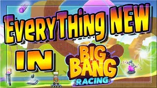 UPDATE PREVIEW! -- Big Bang Racing -- 1 Year Anniversary -- New Features and Items!
