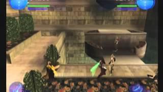 Stars Wars Episode I Jedi Power Battle: Coop playthrough Part1