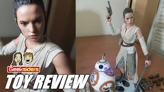 Toy Review: Hot Toys || REY & BB-8