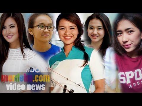 10 Atlet Wanita Tercantik Di Indonesia