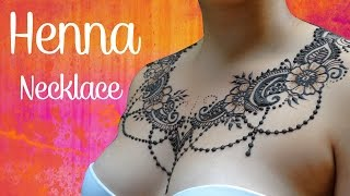 Sexy Henna   Necklace and Back