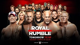 WWE Royal Rumble 2017! [WWE 2K17 Simulation]