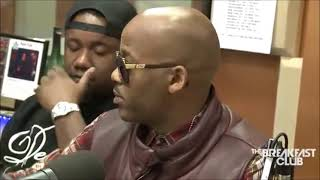 DAME DASH HAD BREAKFAST CLUB SCARED AT INTERVIEW FUNNY EDITION