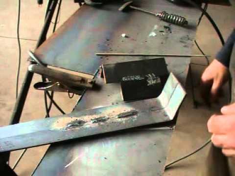 Curso de soldadura gratis 3 en Pared Escultura en hierro 18