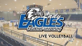Faulkner vs. Freed-Hardeman (Volleyball Invitational)