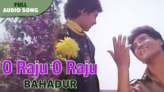O Raju O Raju | Danny Denzongpa | Bahadur | Bengali Movie Song