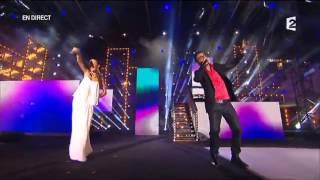 Chawki Ft Kenza Farah - Habibi I Love You Live @ Fête de la Musique à Marseille 2013)