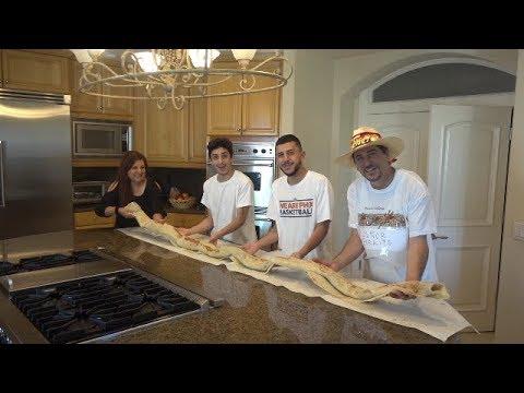 MAKING THE WORLD S BIGGEST BURRITO 10 feet long