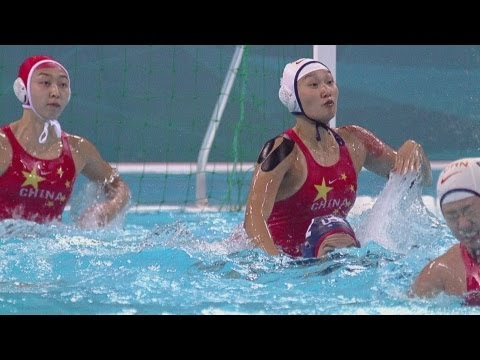 watch Water Polo Women's Prel. Round - Group A - China v United States Replay - London 2012 Olympic Games