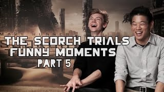 The Scorch Trials Funny Moments Part 5