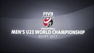 RUS vs ARG 2017 FIVB Men