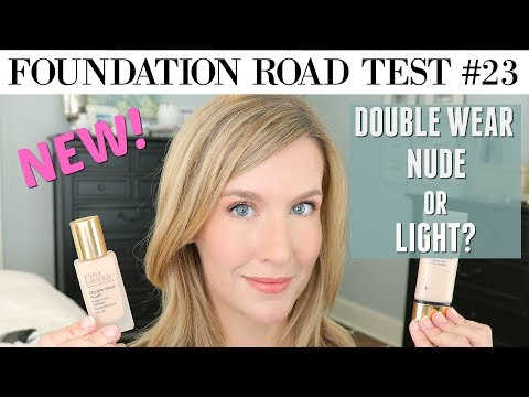 Xxx Mp4 NEW Estee Lauder Double Wear Nude Vs Double Wear Light FOUNDATION REVIEW COMPARISON 3gp Sex