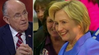 Rudy Giuliani: Clinton is