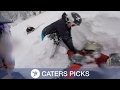 Download Video Download Snowboarder Being Rescued from snow 3GP MP4 FLV