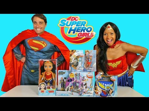 Xxx Mp4 DC Super Hero Girls Toy Challenge Wonder Woman And Superman Toy Review Konas2002 3gp Sex