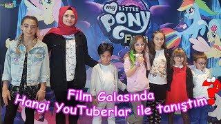 My Little Pony Filmi Galasında Hangi YouTuberlar ile tanıştım? (6 Ekim 2017) Eğlenceli Çocuk Videosu