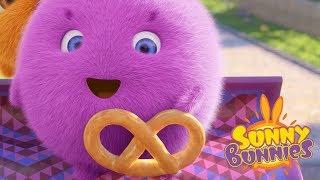 Sunny Bunnies | SUNNY BUNNIES - THE PRETZEL | Cartoons For Children | Funny Cartoons For Children