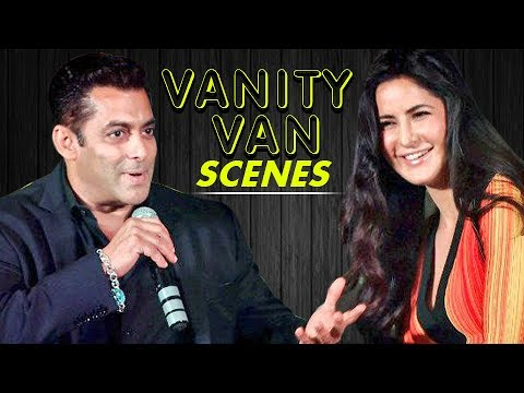Katrina Kaif Spends Time In Salman Khan's Vanity Van