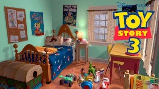 Full Episode Movie Game English Toy Story 3 Disney Andy´s House Buzz Lightyear,Jessie,Woody Chapter2