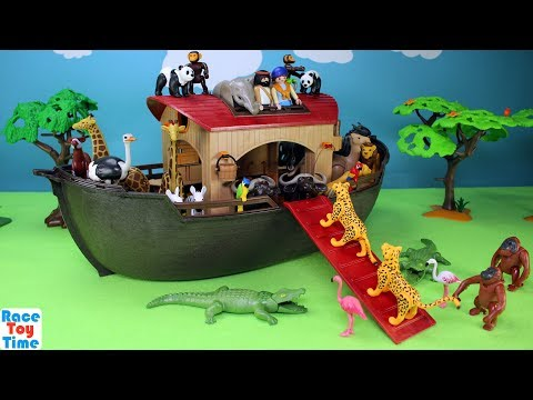 Playmobil Animals Ark Playset Build and Play Fun Toys For Kids