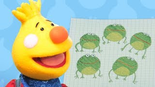 Five Little Speckled Frogs   Sing Along With Tobee   Kids Songs   Super Simple Songs