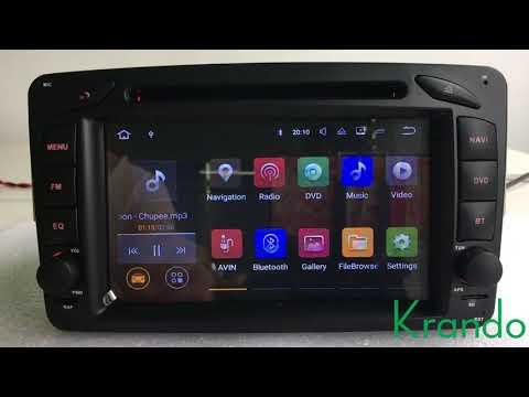 Xxx Mp4 Krando Android 7 1 For Mercedes Benz W209 W203 W168 W463 Viano W639 Vito Vaneo E W210 3gp Sex