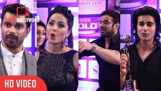 Karan Patel, Hina Khan, Gautam Rode, Karan Singh Grover, Mouni Roy | Zee Gold Awards 2016