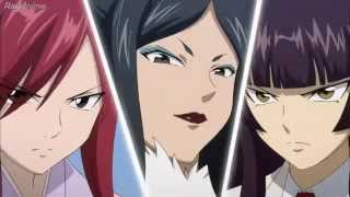 Fairy Tail: Erza X kagura X Minerva (sub en español completo)