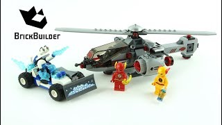 Lego Super Heroes 76098 Speed Force Freeze Pursuit - Lego Speed Build