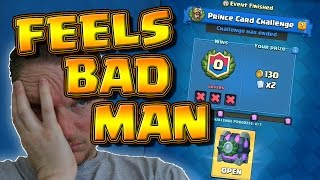 Living up to my name..... Clash Royale Fail