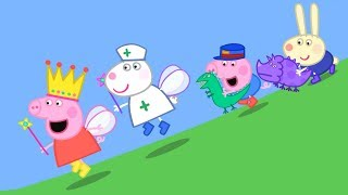 Peppa Pig English Episodes | Peppa and Suzy Sheep have a race! | Peppa Pig 2018 #PeppaPig