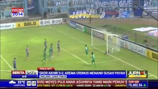 Arema Cronus Menang 3-2 dari Maladewa Maziya