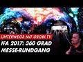 Download Video Download IFA 2017 - 360 Grad Rundgang bei LG, SONY, PANASONIC und SAMSUNG | GROBI.TV 3GP MP4 FLV