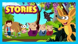 STORIES || English Stories For Kids - Kids Hut Story Compilation || English Stories By Kids Hut