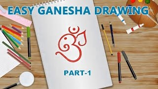Easy Ganesha Drawing for Kids- Part-1 | Kids Learning Video | Shemaroo Kids