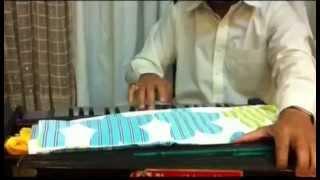 Ghulam ali playing harmonium at his best
