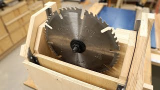 How The Lift Mechanism Works - EPIC Table Saw Build