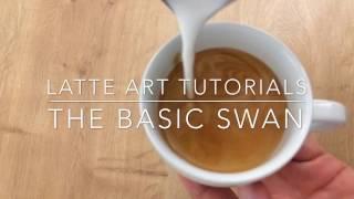 Best Latte Art Tutorial: The Basic Swan
