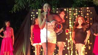 Miss Q & A 2018 Brgy Tres - Production number