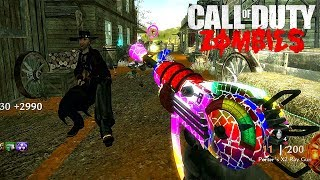 Saloon Remastered - FULL MAIN EASTER EGG TUTORIAL / GUIDE ( World At War Custom Zombies )