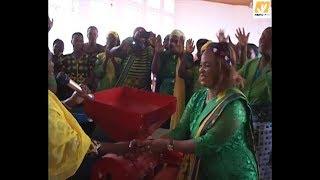 Mbunge wa Viti Maalum Rukwa Bupe Mwakang'ata atoa msaada wa mashine UWT