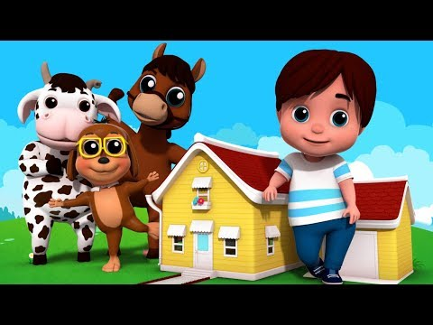 House That Jack Built | Nursery Rhymes For Kids | Baby Songs By Junior Squad