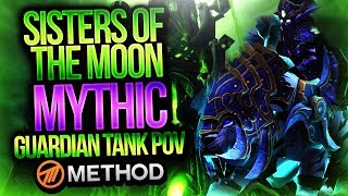 Mythic Sisters of the Moon - Tomb of Sargeras - Method Sco Guardian Druid Tank POV