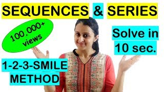 SEQUENCES AND SERIES SHORTCUT//TRICK FOR NDA/JEE/EAMCET/KCET/COMEDK