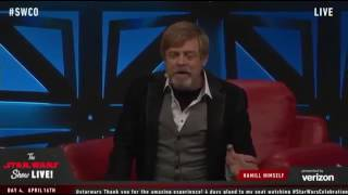 """Mark Hamill talks about being on """"Bad Lip Reading"""" and impersonating Harrison Ford"""
