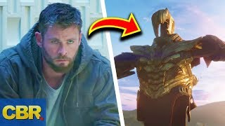 Marvel Avengers 4 Endgame Trailer Breakdown Analysis Explained