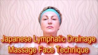 Japanese Massage Face Technique Zogan - Lymphatic Drainage Massage Facial Yukuko Tanaka