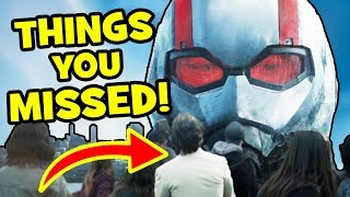 ANT-MAN & THE WASP Trailer EASTER EGGS, Breakdown & Things You Missed