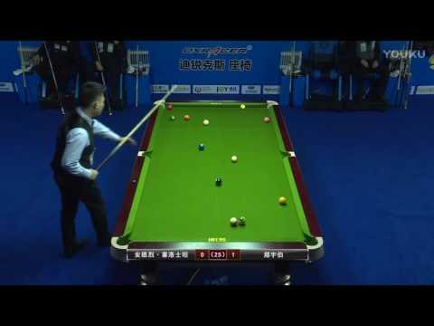 Andrey Seroshtan VS Zheng Yubo - 2017 World Chinese 8 Ball Masters