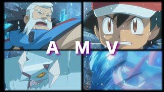 Pokemon XYZ Ash Vs Wulfric Part 1 AMV Until It's Gone (Greninja Vs Avalugg)